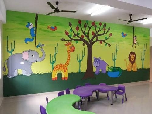 school painter home wall painting house wall painting in