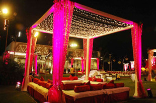 Tent decoration services party decoration services food art tent decoration services junglespirit Choice Image