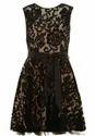 Black Lace A -Line Dress