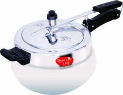 Aluminum Pressure Cooker Handi Royal Chef