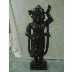 Krishna Marble Moorti In Black