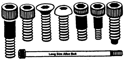 Bolt Head Types >> Allen Bolt Hex Socket Type Hex Socket Head Cap Screws Royal