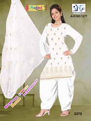 White Color Suit View Specifications Details Of Ladies Suits By Naina Fashion Surat Id 7456522848