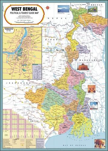 West bengal map at rs 110 piece political state maps id west bengal map gumiabroncs Choice Image