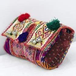 Vintage Clutch Banjara Embroidery Ethnic Patchwork Handmade Bags