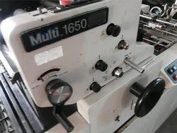 Used Multi 1650 Mini Offset Printing Machines
