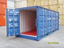 Rear Open Box Container