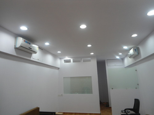 Office Gypsum Board False Ceiling Creative Concept