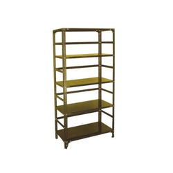 Harihar Mild Steel Rack with Punch Stripe, For Supermarket