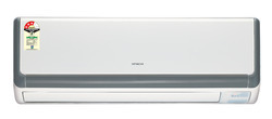 White Hitachi Split AC, Capacity: 1.5 Ton
