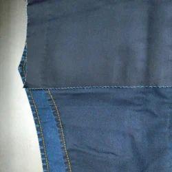 2/40(TFO) X 10 S Cotton Satin Denim Fabric