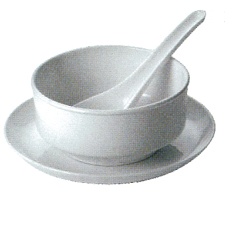 Poly Carbonate Soup Bowl