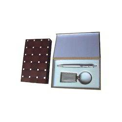 Brown Pen Case Gift Set