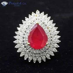 American Diamond Style Rings