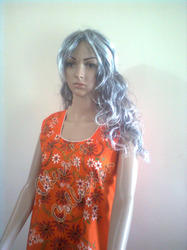 Floral Hand Painted Kurti
