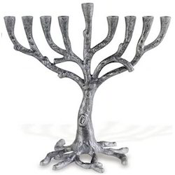 Brass Plated Menorah