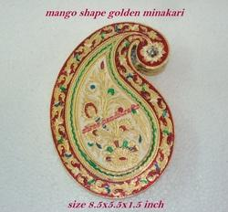 Minakari Dry Fruit Box Mango Shape