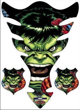 Hulk Tank Pad Bike Stickers View Specifications Details Of