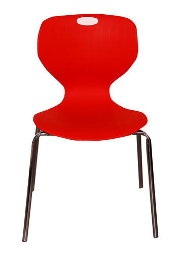 VJ Interior Red Cafe Chair