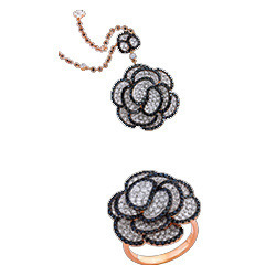 Matching Jwelery Rose Gold Diamond Jewellery Manufacturer From Surat