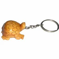 Tortoise Keychain