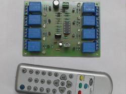 Infra Red (IR) Based 8 Channel Remote Control