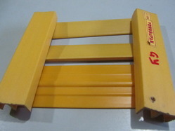 Yellow PVC Profile