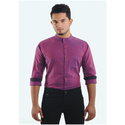 461fdd0ff Chinese Collar Shirts at Rs 250 /piece(s) | कॉलर वाला ...