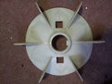 White Motor Cooling Fan Blade