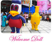 Welcome Doll