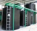 Spiral Vertical HDPE Storage Tanks