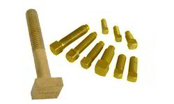 Dutux Golden Brass Square Bolt, for Hardware Fitting, Packaging Type: Carton Box