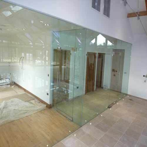 Transparent Patch Fitting Glass Partitions Rs 229 Square