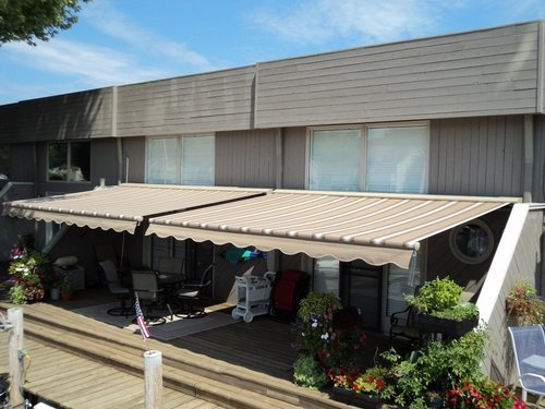 Custom Terrace Awnings