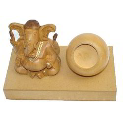 Wooden Lord Ganesha