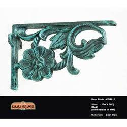 Victorian Cast Iron Antique L Bracket