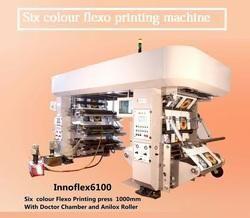 Innovative Flexotech Pvt.Ltd. Colorful Printed Plastic Bag Flexo Printing Machines