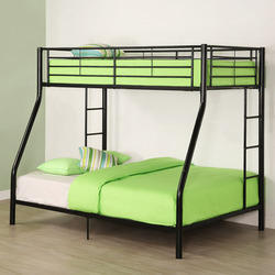 Double bunk bed suppliers manufacturers in india for Round bed designs with price