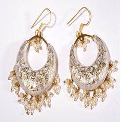 Antique Gold Bali Hoop Earrings Ladies Earrings And