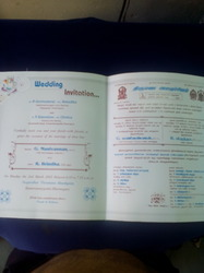 bills, flyers, broushers, Invitation Cards Printing Services