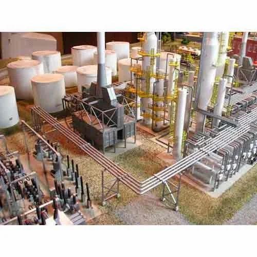 Oil Refinery 3D Model, 3d Modeling Services - Model Artician, New
