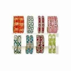Multicolor Designer Lac Bangles