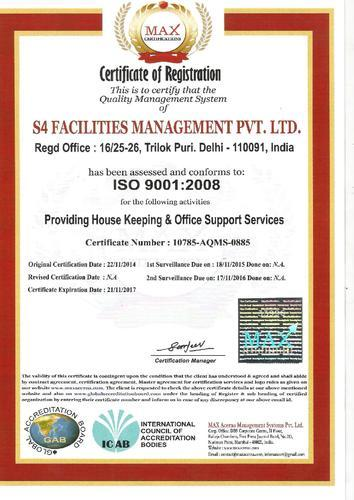 S4 Facilities Management Pvt. Ltd. - Service Provider from Mayur ...