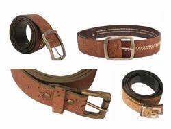 Cork Men Leather Belts