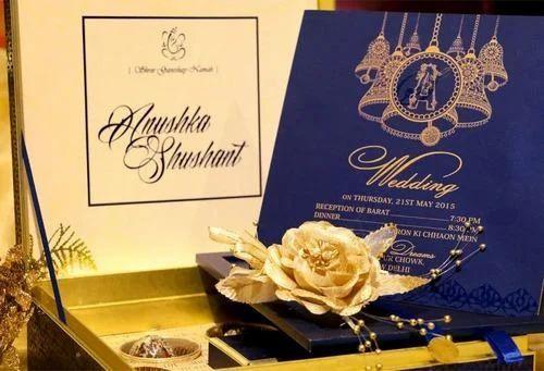 designer invitation box at rs 1000 pieces wedding invitation