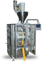 Collar With Auger Filler Pouch Packaging Machine