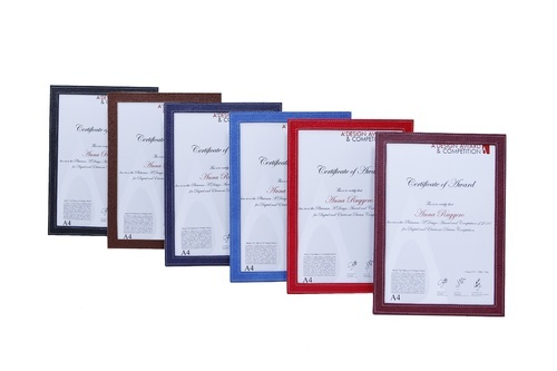 Certificate Frame Multicolour National Handicraft Enterprises