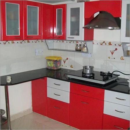 Kitchen Work In Ghaziabad Nehru Nagar By Mayur Kitchen Interiors