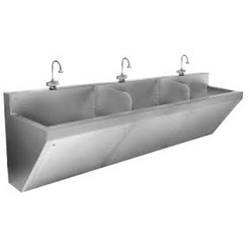 Wall Mounted Sink View Specifications Details Of Stainless Steel