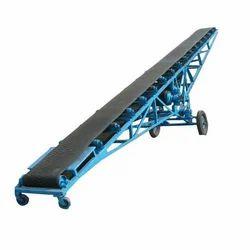 Semi-Automatic Portable Conveyors, Length: 10-20 feet